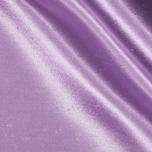 Ben Textiles Shantung Sateen Fabric, Lavender, Fabric by the yard