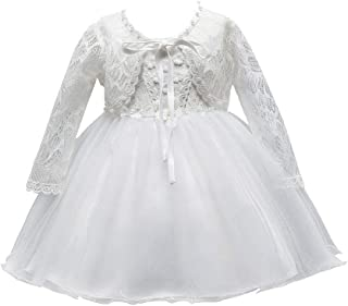 zhxinashu Children Christening Gowns Girl Birthday Dresses Wedding Easter Tutu Costume