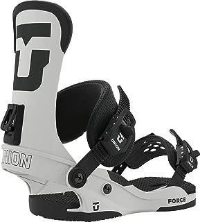 Union Force Snowboard Bindings Mens Sz M (8-10) Matte Stone