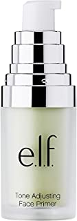 e.l.f, Tone Adjusting Face Primer - Small, Lightweight, Long Lasting, Silky, Smooth, Neutralizes Uneven Skin Tones and Red...