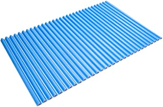東プレ 風呂ふた カラーウェーブ イージー ウェーブ 波形 ブルー 70×99cm M10