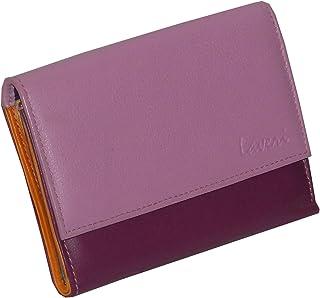 Laveri Flap Wallets- Leather- Pink