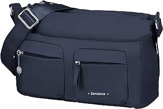 Samsonite Move 3.0 - Schultertasche M mit 2 Fronttaschen, 28 cm, Blau (Dark Blue)
