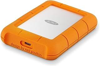 LaCie HDD ポータブルハードディスク 5TB Rugged USB type C 耐衝撃 STFR5000800