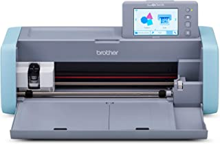 """Brother ScanNCut DX, SDX125, 5"""" LCD Touch Screen, Wireless Network Ready, 600 DPI Scanner, 682 Built-in Designs Home Elect..."""