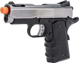 Evike AW Custom NE10 Series 1911 Compact Sized Airsoft GBB Pistol