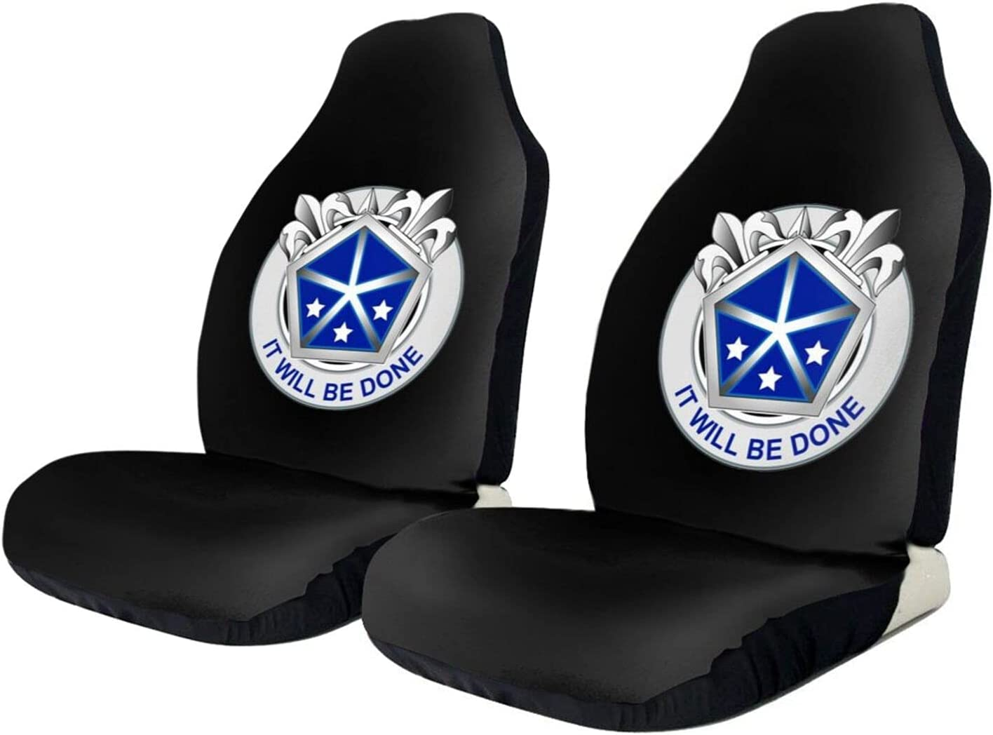 V Very popular Corps Car Seat Cover Protector 2 Limited time cheap sale Decoration Set Piece Univ