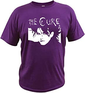 Short sleeveCotton Tshirt The Cure Band T Shirt Clothing Member Classical Figure Outline Homme Casual Short Sleeve Loose Tees