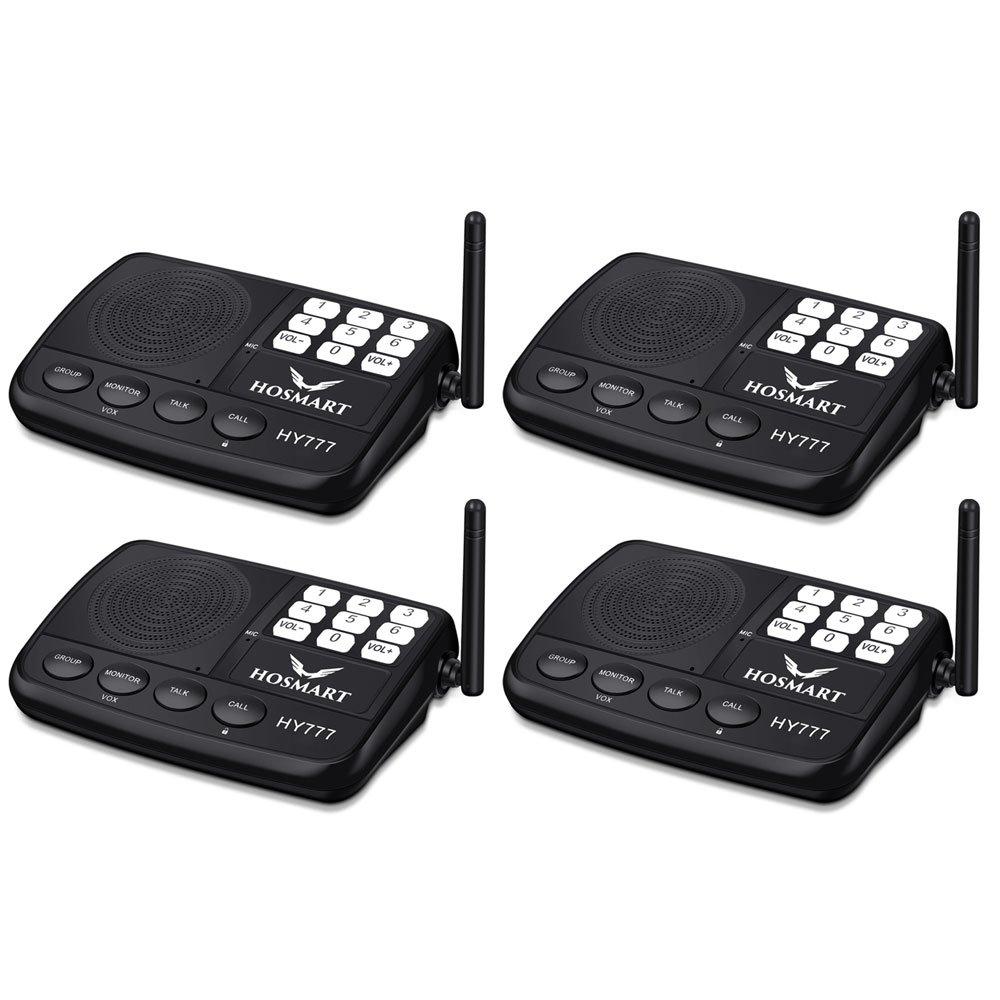 Wireless Intercom Hosmart 7 Channel Security