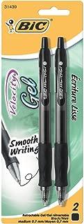 Bic Velocity Gel Retractable Pens