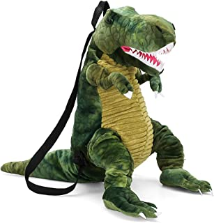 Hinder Mochila para niños con dinosaurio 3D, diseño de dinosaurio 3D, mochila para niños y niñas