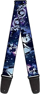 Buckle-Down 2 Inches Wide Guitar Strap - Buzz Lightyear Poses Galaxy Blues (GS-WDY065)