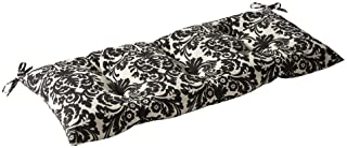 Pillow Perfect Indoor/Outdoor Essence Black|Beige Swing/Bench Cushion