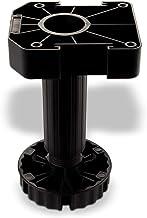 Set van 4 meubelpoten zwart met sokkelhoogte 150 mm