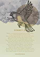 Sonnet 29 Poem by William Shakespeare When, in Disgrace Motivational Poster, Print, Photo, Picture or Framed Wall Art Deco...