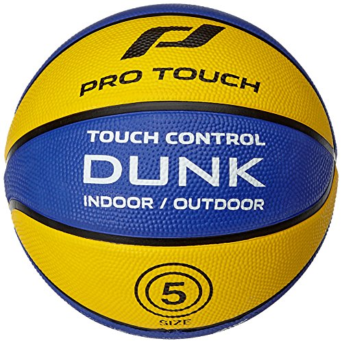 Pro Touch Basketball Dunk, Yellow/Blue, 7
