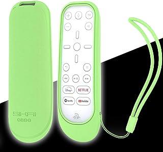 Capa protetora de silicone SIKAI para controle remoto de mídia PS5, à prova de choque, antiderrapante, para controle remot...