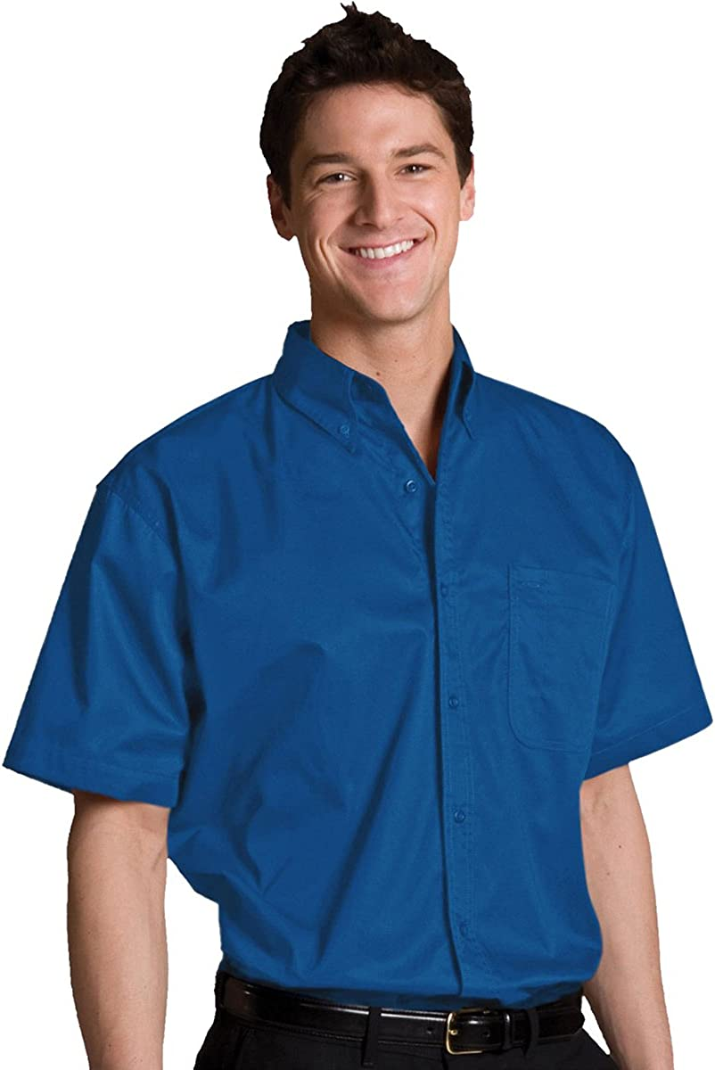 Edwards Men's Cottonplus Short Sleeve OFFicial site Limited time for free shipping Twill Shirt