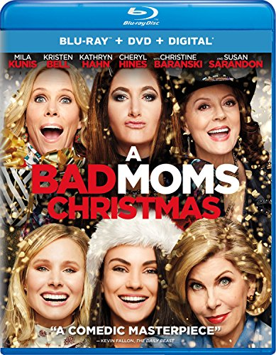 A Bad Moms Christmas Blu-ray + DVD + Digital  $4 at Amazon