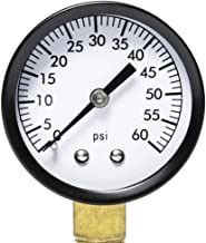 Aquatix Pro Pool Filter Pressure Gauge - Premium Spa/Pool/Aquarium Water Pressure Gauge, 2