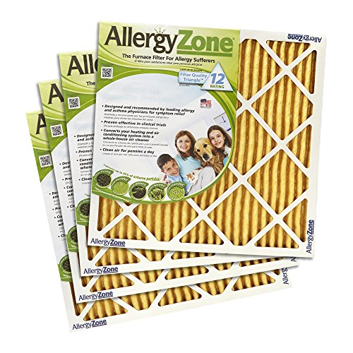 AllergyZone AZ20301 Furnace Filter (4 Pack), 4 Piece