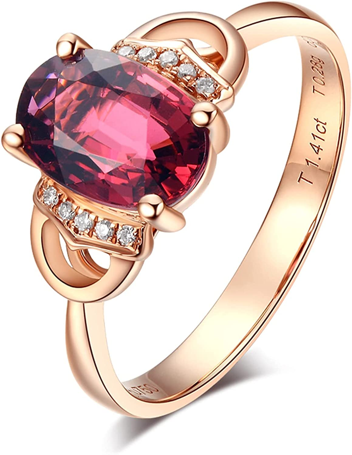 Aokarry Womens Wedding Engagement Ring 1.4ct Rose Tour Gold 18k wholesale Recommendation