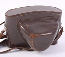 Leica LEITZ M3 / M2 Brown Leather CAMERA CASE with Strap