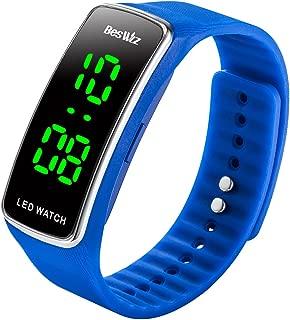 Unisex Digital Kids Digital Watches Waterproof Outdoor Sports LED Wristwatch for Boys Girls Kids Teenager