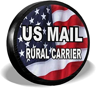 rural mail carrier spare tire cover