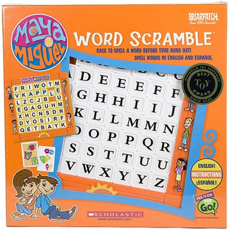 Maya & Miguel Word Scramble Multi Lingual Eng & Spanish
