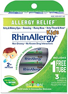Sponsored Ad - Boiron Rhinallergy Homeopathic Medicine for Allergy Relief, 3 Count