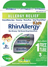 Boiron Rhinallergy Homeopathic Medicine for Allergy Relief, 3 Count
