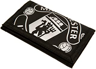 Manchester United FC - Nylon Black Wallet - Official Merchandise