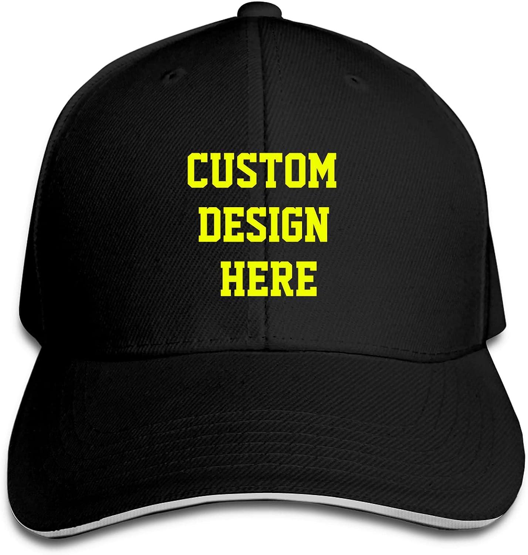 Custom Baseball Cap, Personalized Unisex Sun Cap Adjustable Fashion Hip-hop Hat Design Your Own Trucker Hat