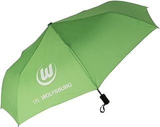 VfL Wolfsburg Schirm Regenschirm Taschenschirm grün