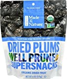 Made In Nature Organic Dried Plums -- 6 oz - 2 pc