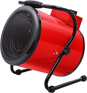 MAHZONG Radiador eléctrico 3000w De Alta Potencia De Calefacción, Calentamiento Rápido, Utilizar En El Hogar Nave Industrial, Oficina De Calefacción, IPX4 Impermeable Con La Función De Protección De F