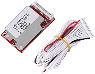 Hilitand Li-Ion Li-Polymer Battery Pack Protection Board Automatic Activation BMS Module for 13S 48V/54.6V Batteries