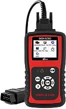 KZYEE KC201 Car OBD2 Scanner with Live Data for Check Engine Light, Diesel or Gasoline Engine Diagnostic Scan Tool for 12V Vehicles