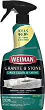 Weiman Disinfectant Granite Daily Clean & Shine, 24 Fl Oz (Pack of 1)