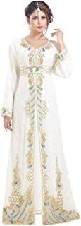 Moroccan Wedding Gown Party Wear Perfect for Any Festive Occasion 6579