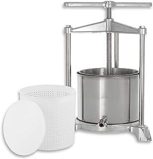 kaese-selber.de - Prensa para Queso (Aluminio y Acero Inoxidable, 1200