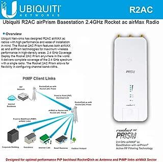 Ubiquiti Networks R2AC airPrism Basestation 2.4GHz Rocket ac airMax Radio