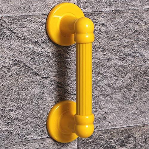 LYHY Handlauf Bad Sicherheitsgeländer für ältere Menschen Barrierefreies Bad Bad Badewanne rutschfeste Handläufe (Farbe: Gelb)