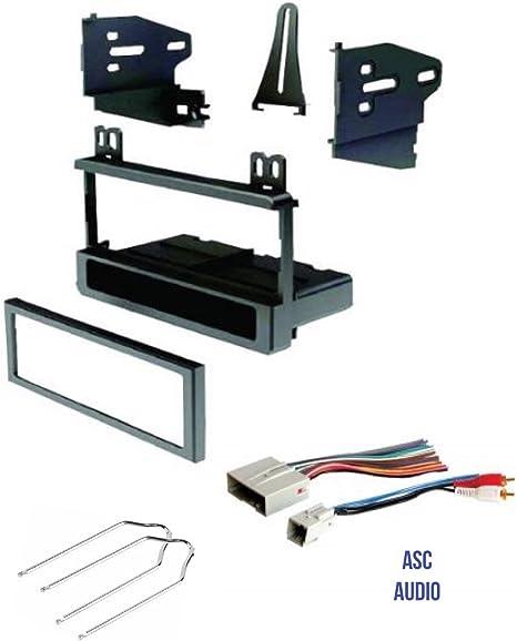 99-7950 Aftermarket Single-Din Radio Install Dash Kit w/ Wires Car ...