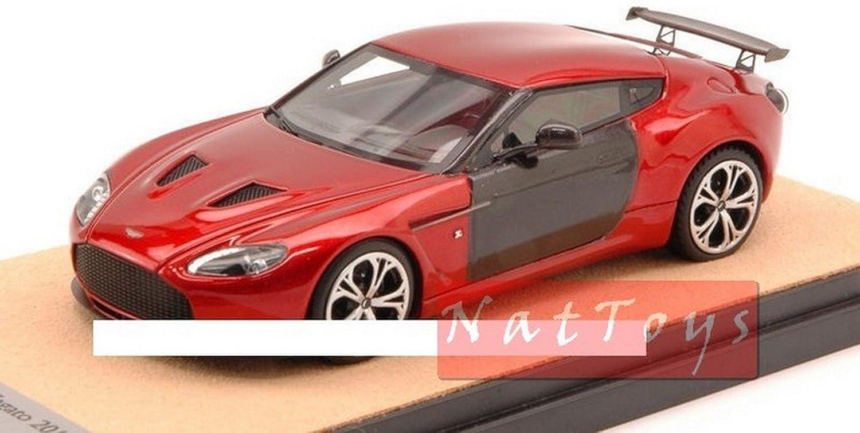 nueva marca Tecnomodel Tecnomodel Tecnomodel TMDMI52AS Aston Martin V12 Zagato 2012 Metallic rojo Cochebon 1 43 Model Compatible con  en venta en línea