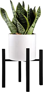 Plant Stand Pot Rack Plant Rack Metal Pot Holder Flower Pot Holder Display Potted Rack Rustic Decor for House, Garden & Patio (Plant and Pot NOT Included)(14