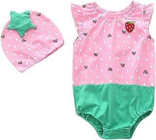 Gonxifacai Newborn Infant Baby Girls Cotton Long Sleeve Letter Romper+Pants+Headband+Hat Clothes Set