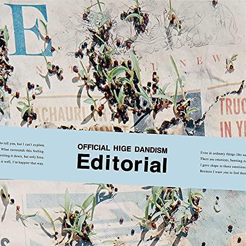 【店舗限定特典つき】 Editorial (CD+Blu-ray)(クリアポーチ付き)
