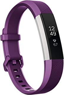 Keasy Replacement Bands Compatible for Fitbit Alta and Fitbit Alta HR, Sport Bands with Secure Metal Buckle
